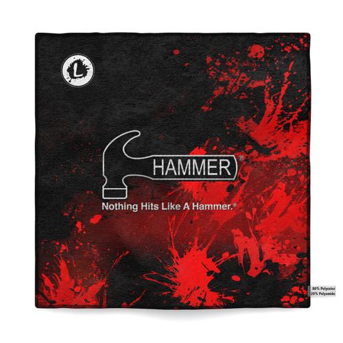Hammer Violent Splatter Sublimated Towel