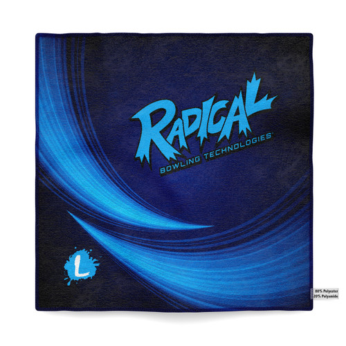 Radical Blue Streak Dye Sublimated Towel