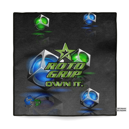 Roto Grip Loaded Dice Sublimated Towel