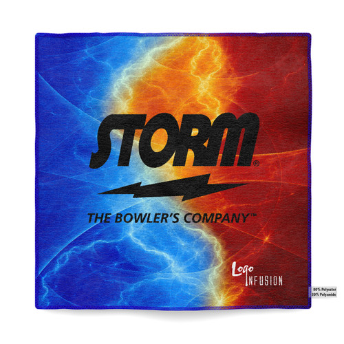 Storm Colorful Sublimated Towel