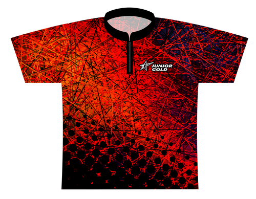 Junior Gold Silly String - Blaze Dye Sublimated Jersey