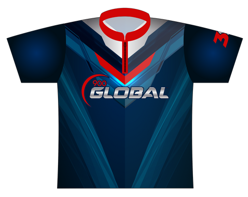 900 Global EXPRESS Dye Sublimated Jersey Style 0135