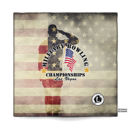 Military Bowling Championships Microfiber Towel - MBC18_05MT
