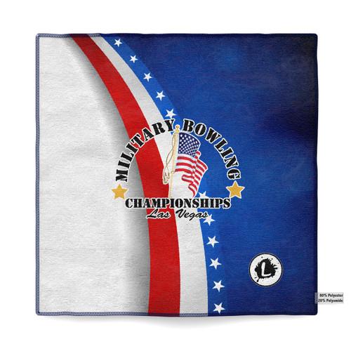 Military Bowling Championships Microfiber Towel - MBC18_06MT
