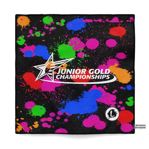 Junior Gold Dallas 2018 - Official Dye Sublimated Microfiber Towel - JG18_040MT