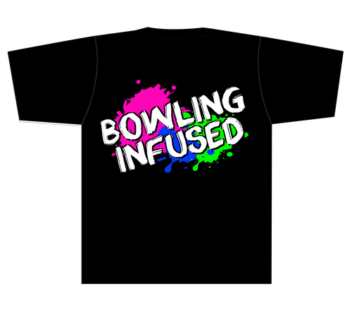 Bowling Infused T-Shirt - Black