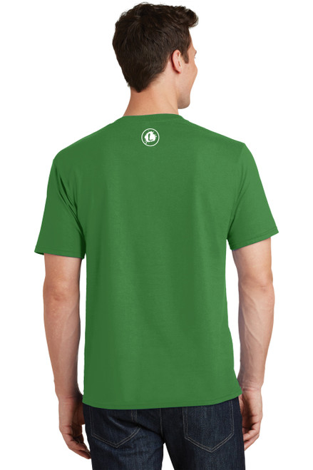 READY-2-SHIP Logo Infusion - Kiwi Green Tee - Unisex