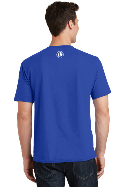 Logo Infusion - Royal Blue Tee - Unisex