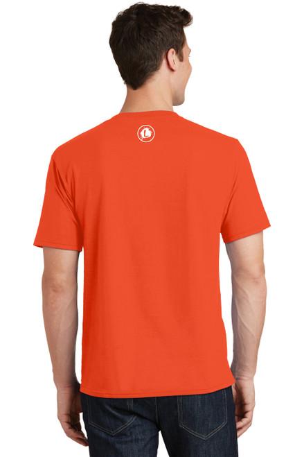 Track - Orange Tee - Unisex