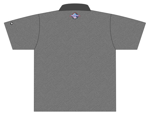 MTC '19 - DS Mesh Jersey Grey - POLO COLLAR - (READY-2-SHIP)