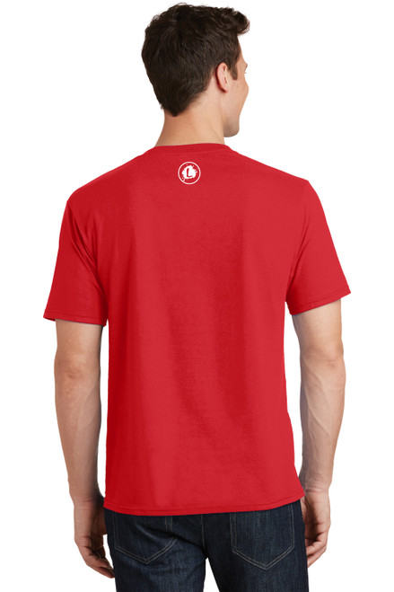 Logo Infusion - Bright Red Tee - Unisex