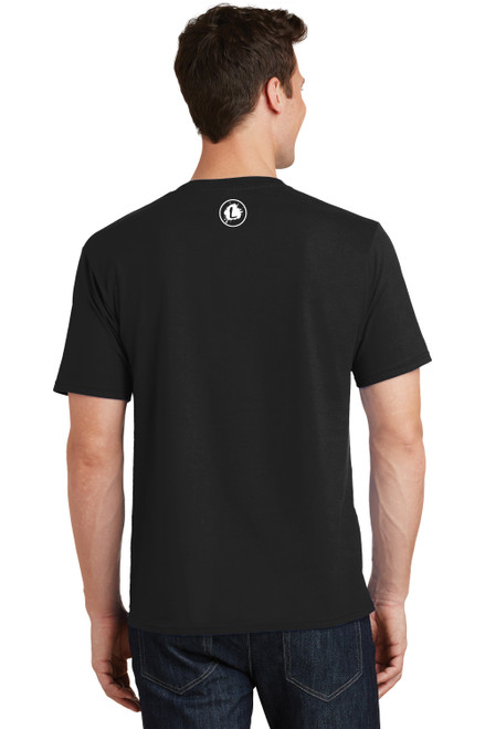 READY-2-SHIP Logo Infusion - Black Tee - Unisex