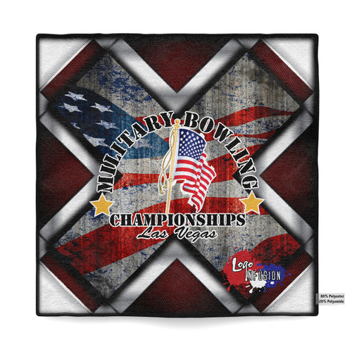 January Military - Cross Flag Dye Sublimated Towel