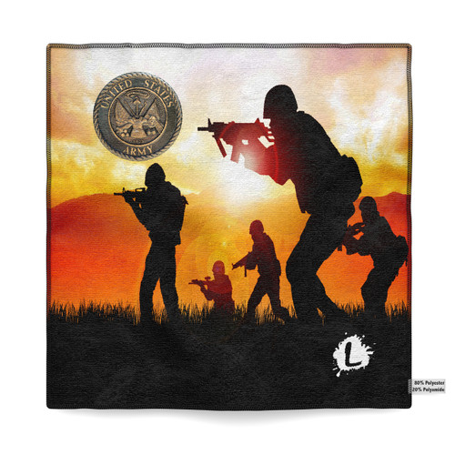 January Military - Army '15 Dye Sublimated Towel
