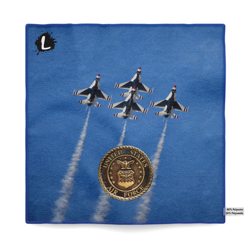 January Military - Air Force '15 Dye Sublimated Towel