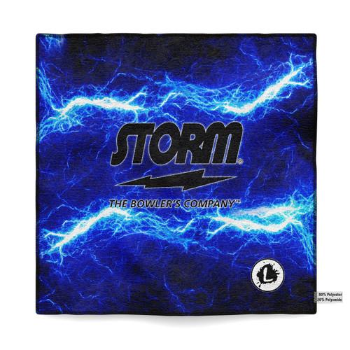 Storm Blue Lightning Flame DS Towel
