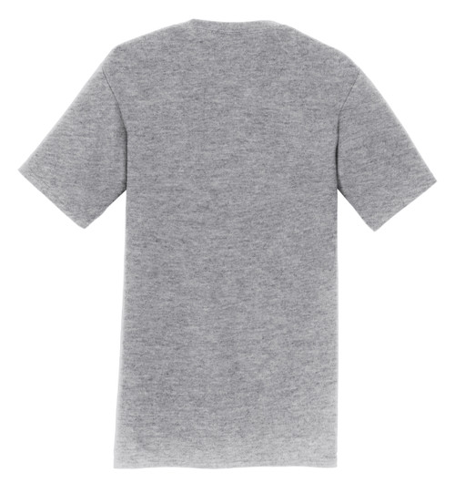 Logo Infusion T-Shirt - Athletic Heather with White Print