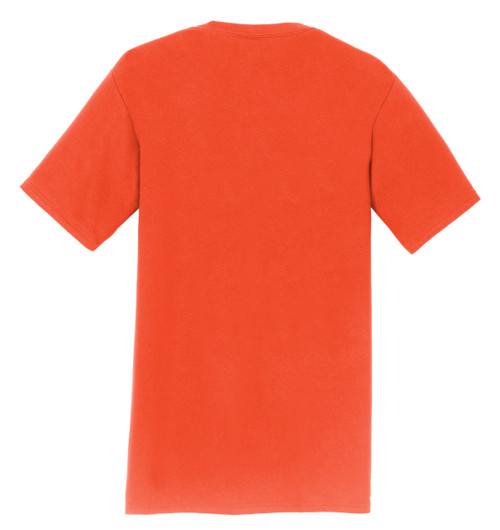 K&K Bowling Services HALLOWEEN Orange T-Shirt with Logo Print