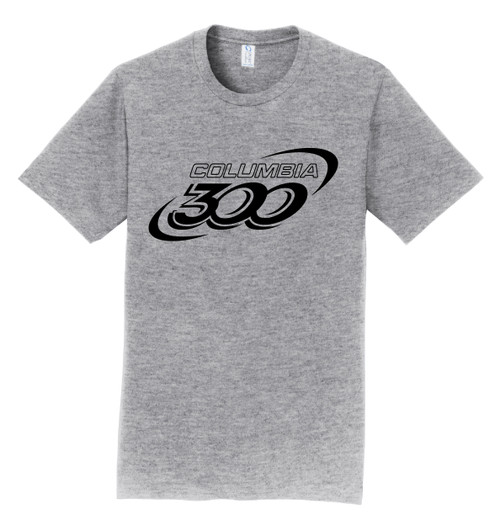 Columbia 300 T-Shirt - Black Logo - 8 Colors