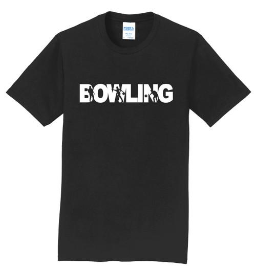 I AM Bowling T-Shirt - Bowling White Logo - 8 Colors
