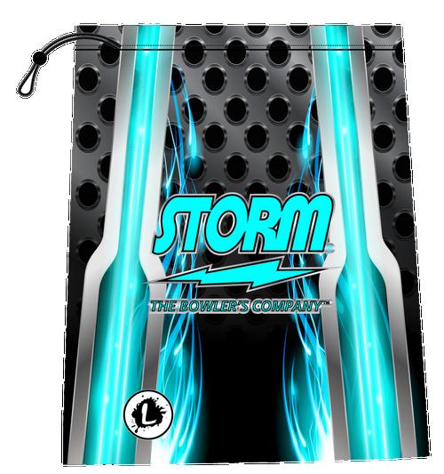 Storm Teal Carbon Shoe Bag