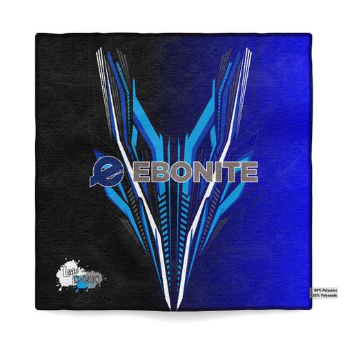 Ebonite Blue Fletching Sublimated Towel