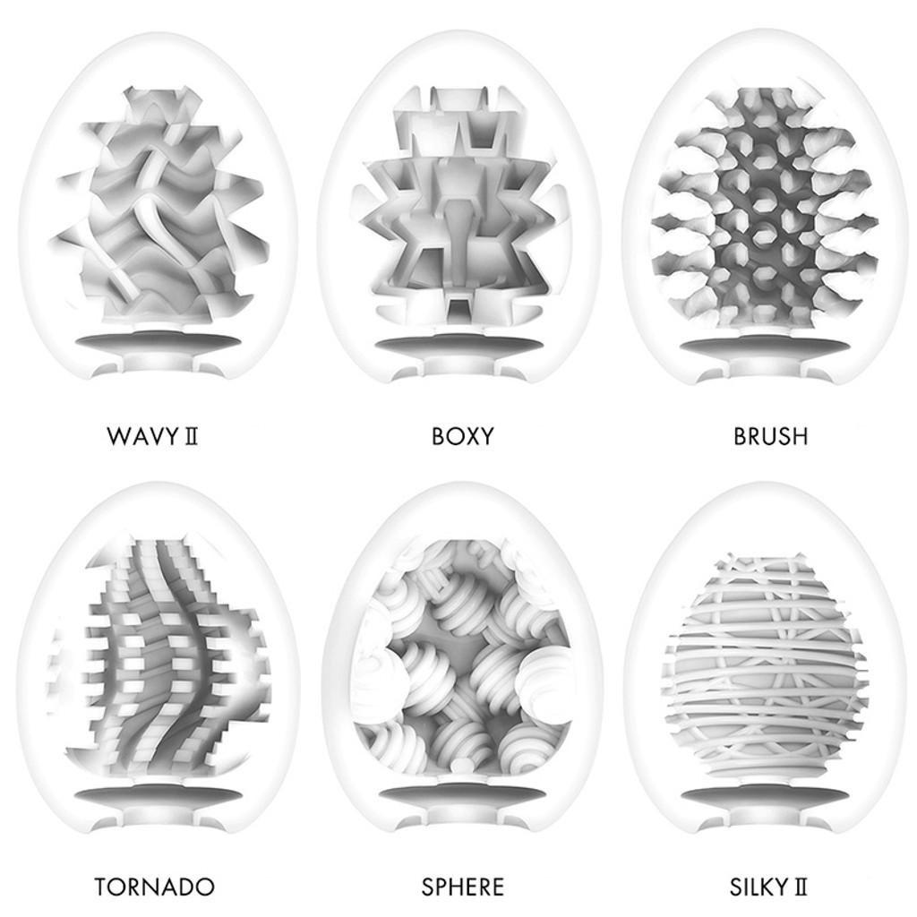 Tenga Egg Stroker Textures