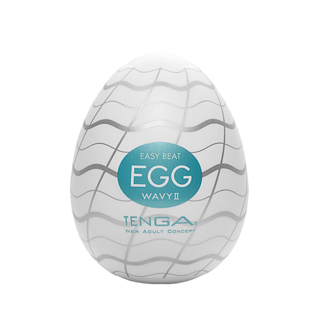 Wavy II Tenga Egg Stroker - Packaging