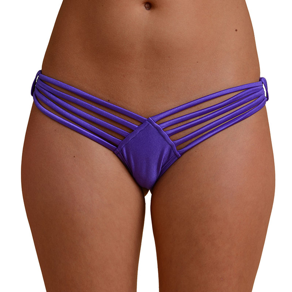 Five Strap Thong - Front