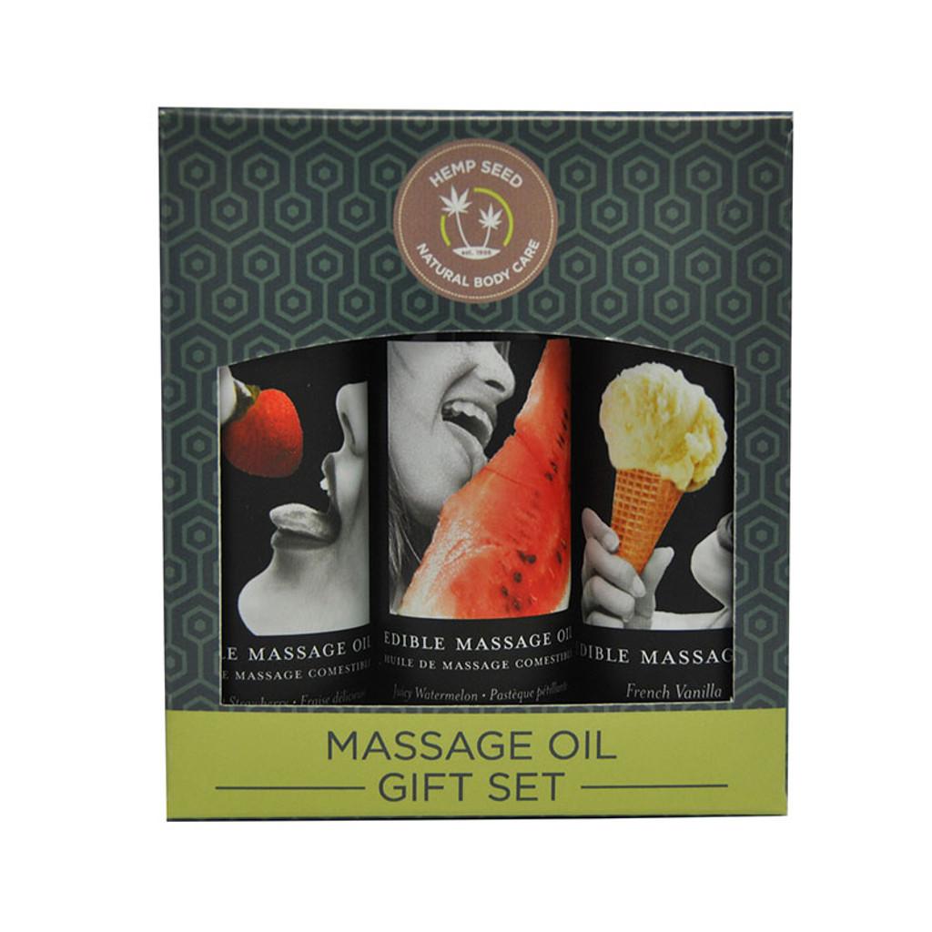 Edible Massage Oil Gift Set