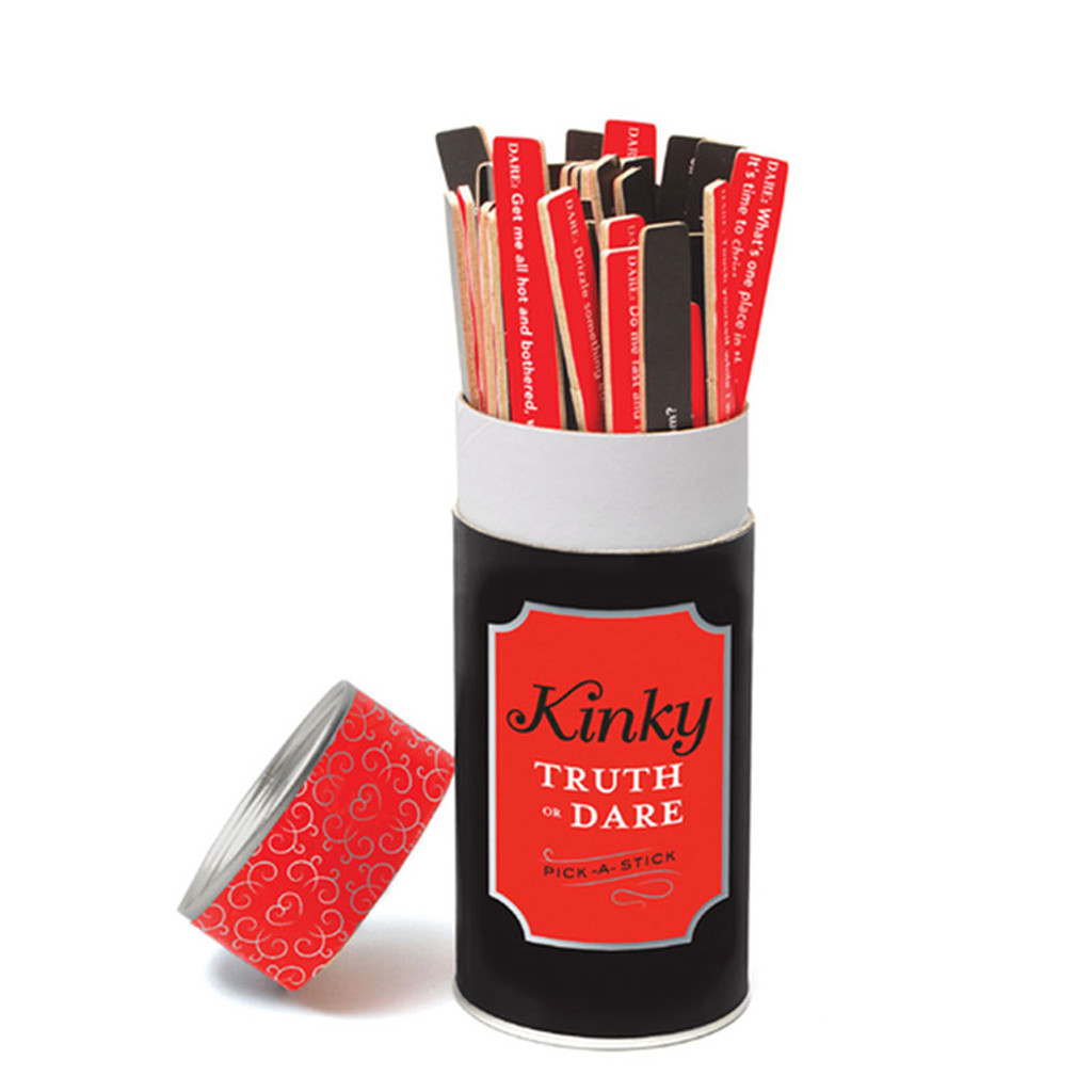 Chronicle Books Kinky Truth or Dare Pick a Stick