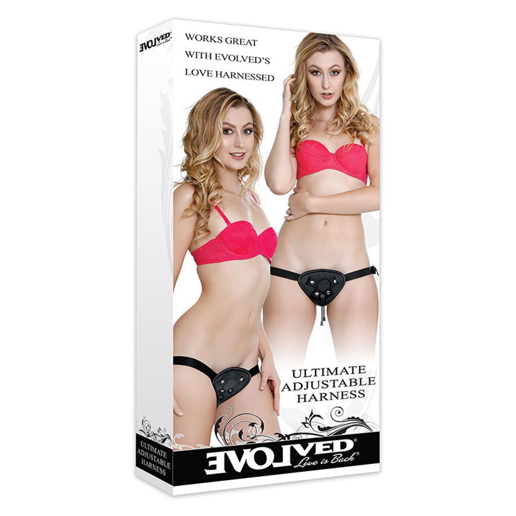 Evolved Novelties Ultimate Adjustable Strap-on Harness - Box