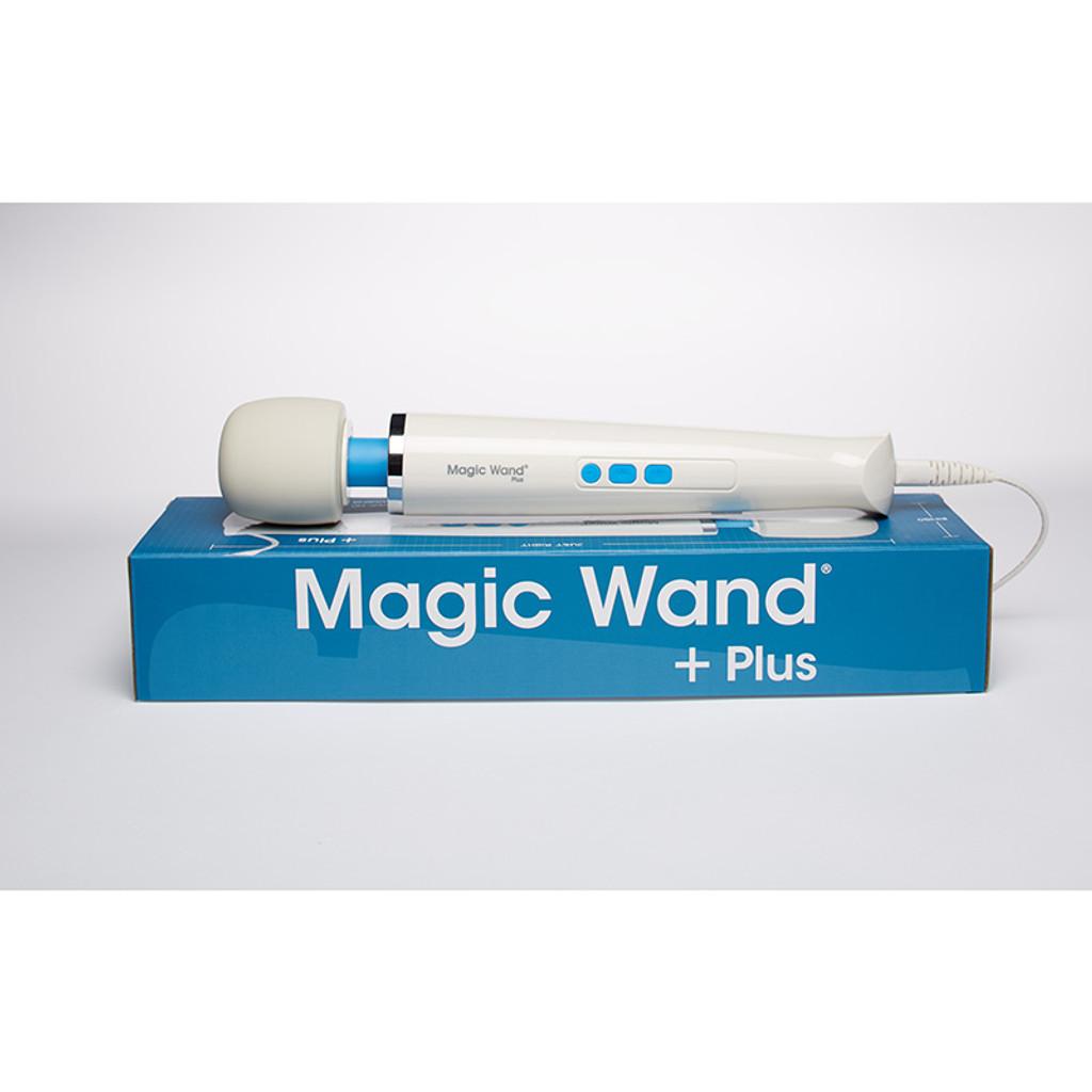 Hitachi Magic Wand Plus - Packaging Top