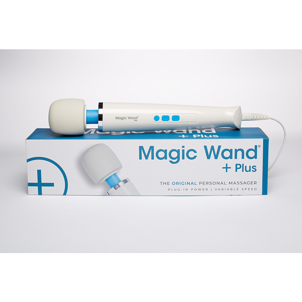 Hitachi Magic Wand Plus - Packaging Front