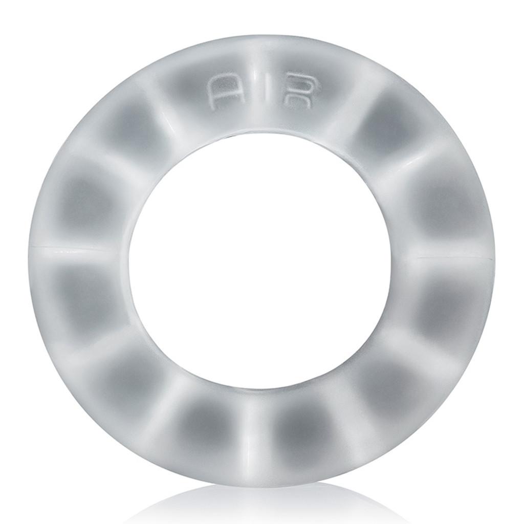 Cool Ice Oxballs Air Airflow Cock Ring - Front