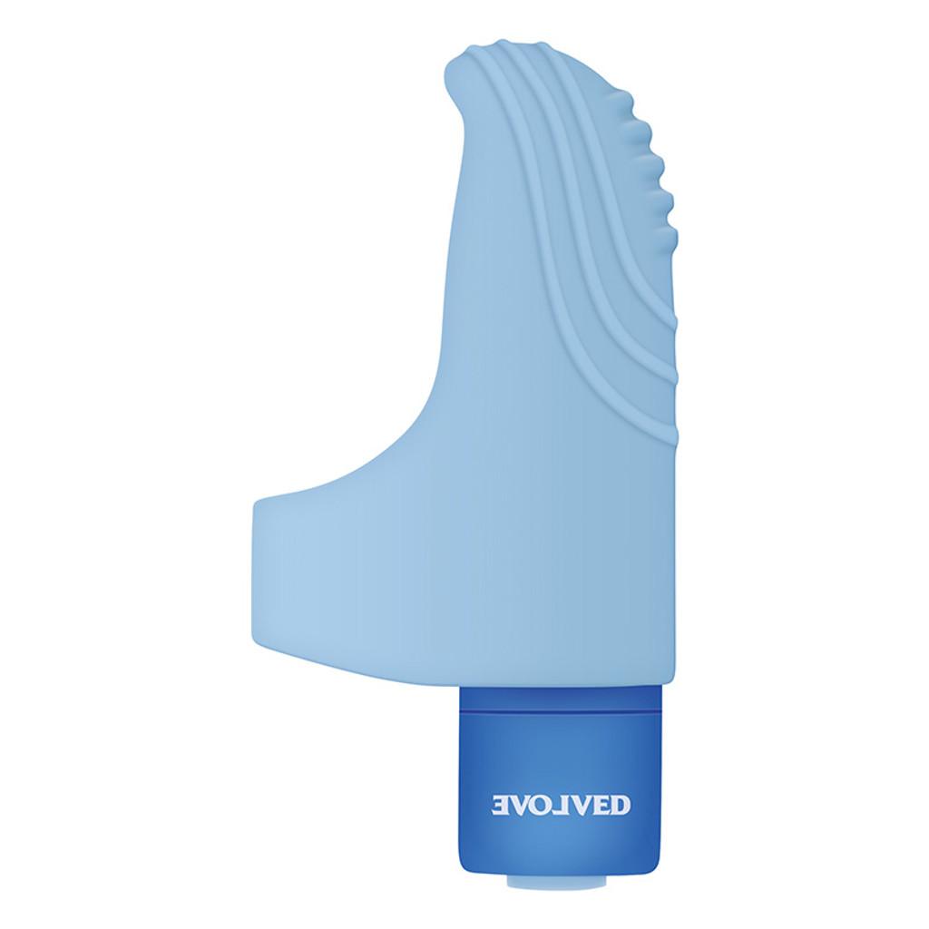 Evolved Novelties Fingerlicious Finger Clitoral Stimulator - Side