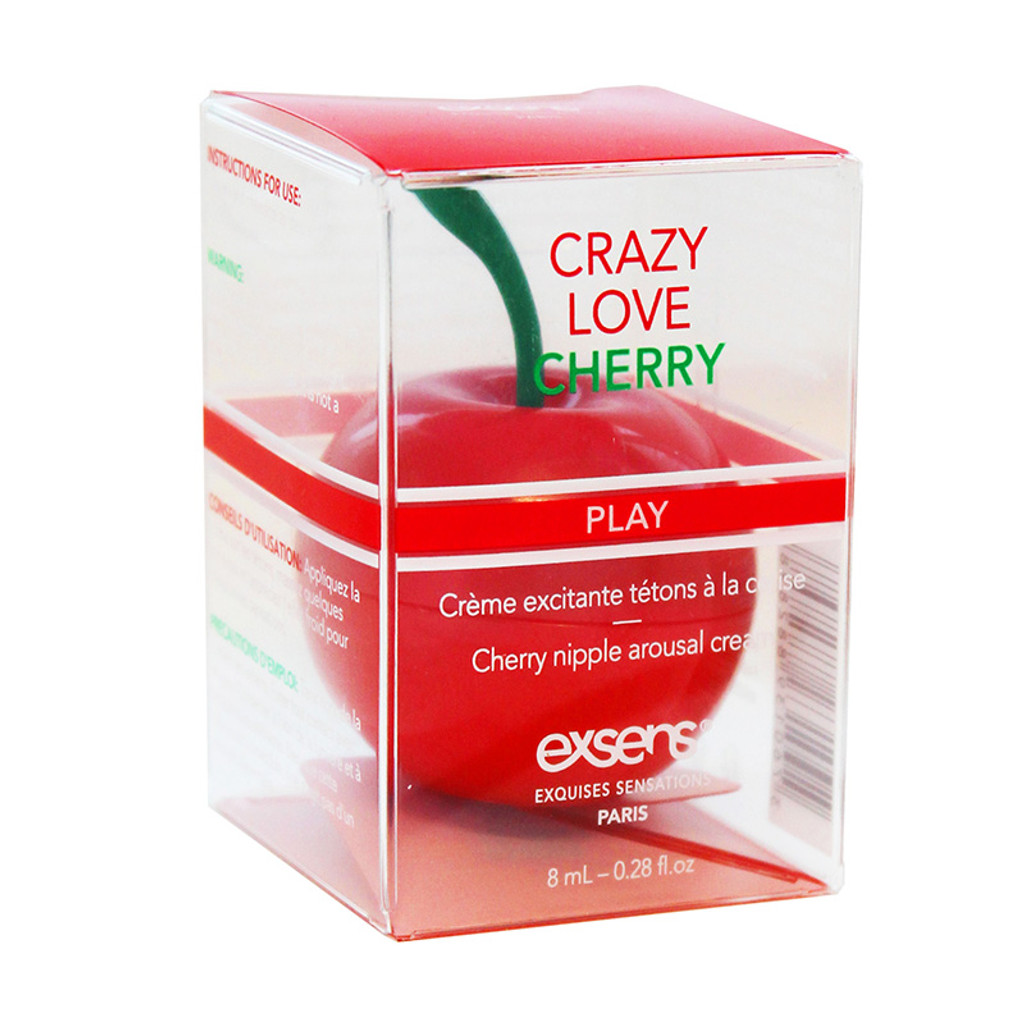 Exsens Crazy Love Cherry Nipple Arousal Cream - Packaging