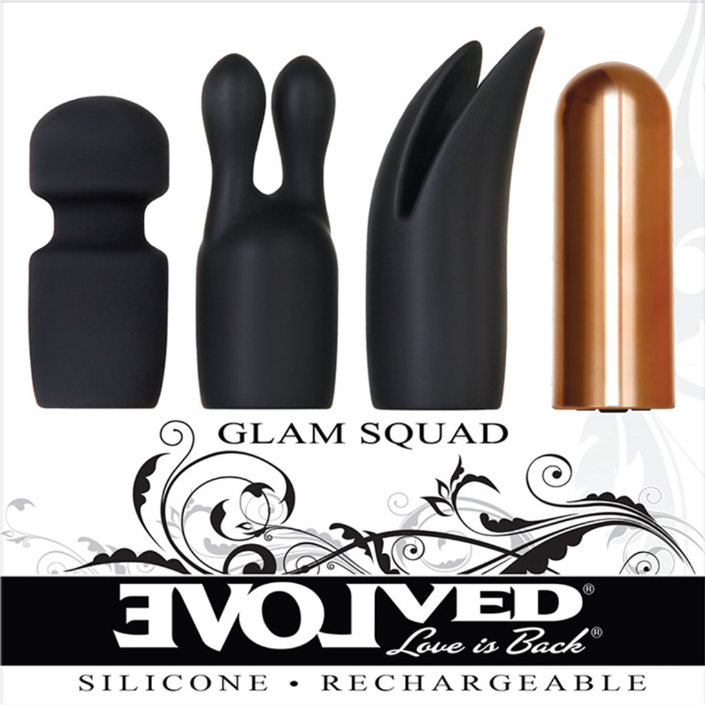 Evolved Novelties Glam Squad Bullet Kit - Packaging Front
