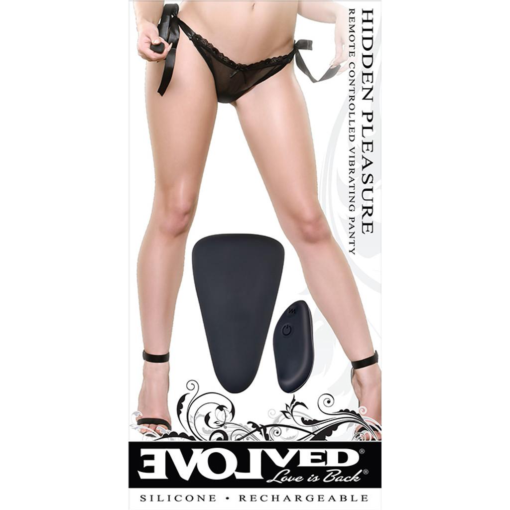 Evolved Novelties Hidden Pleasure Remote Control Vibrating Panties - Packaging Front