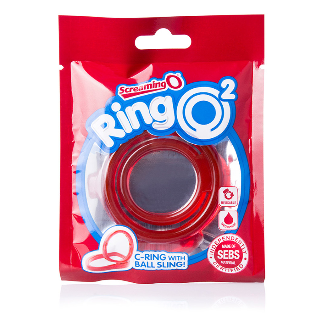 Screaming O RingO 2 Double Cock Ring - Packaging Front