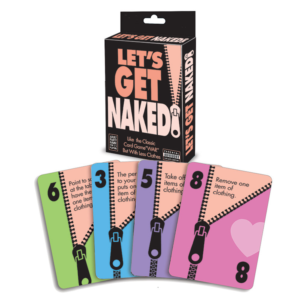Little Genie Productions Let's Get Naked Card Game