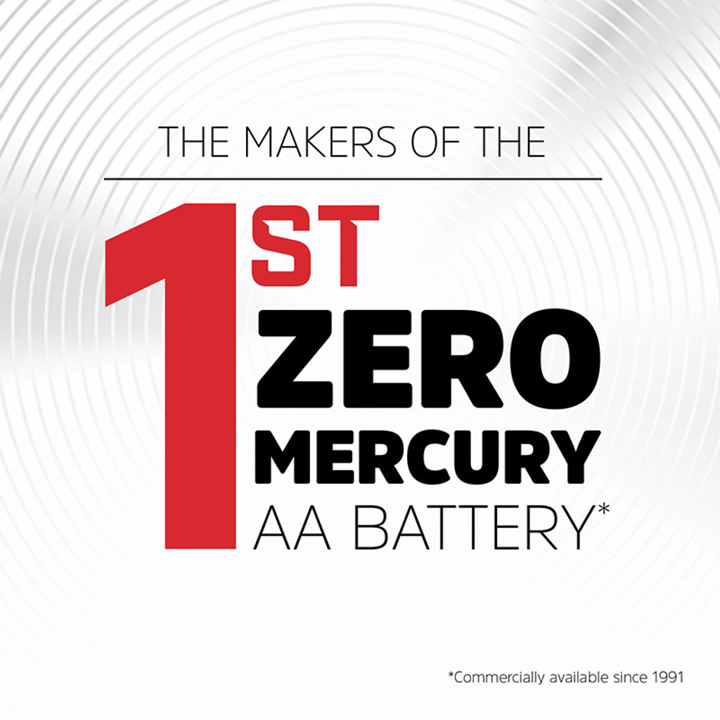 Energizer MAX Alkaline AAA Batteries - Zero Mercury