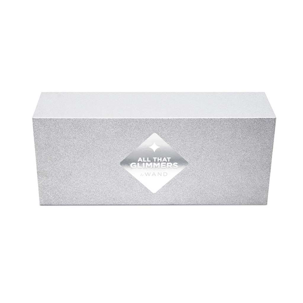White Le Wand Special Edition: All That Glimmers Petite Rechargeable Wand Massager - Packaging Front