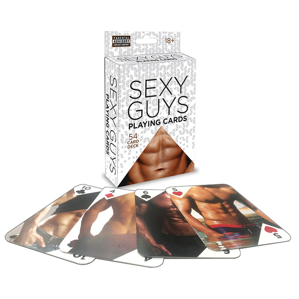 Little Genie Sexy Guys Playing Card Deck