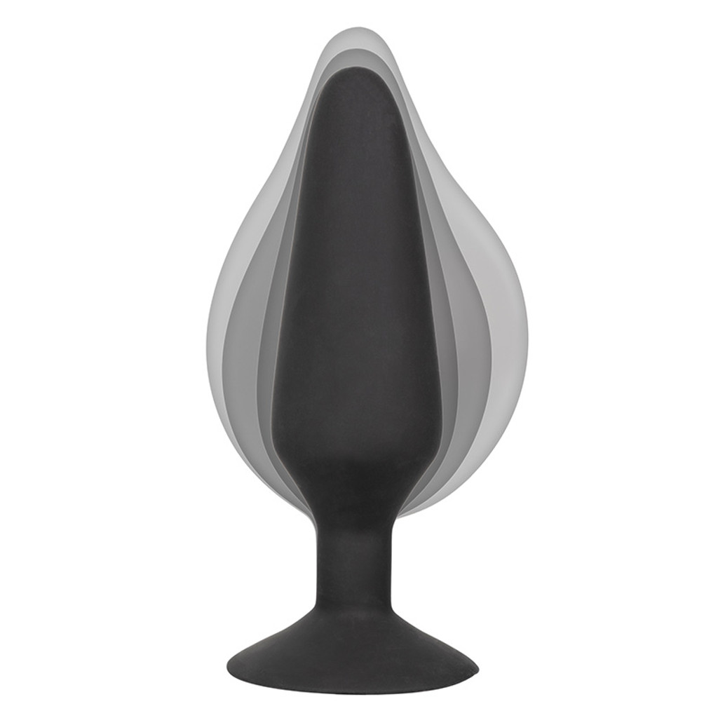 CalExotics  XL Silicone Inflatable Butt Plug - Inflatable