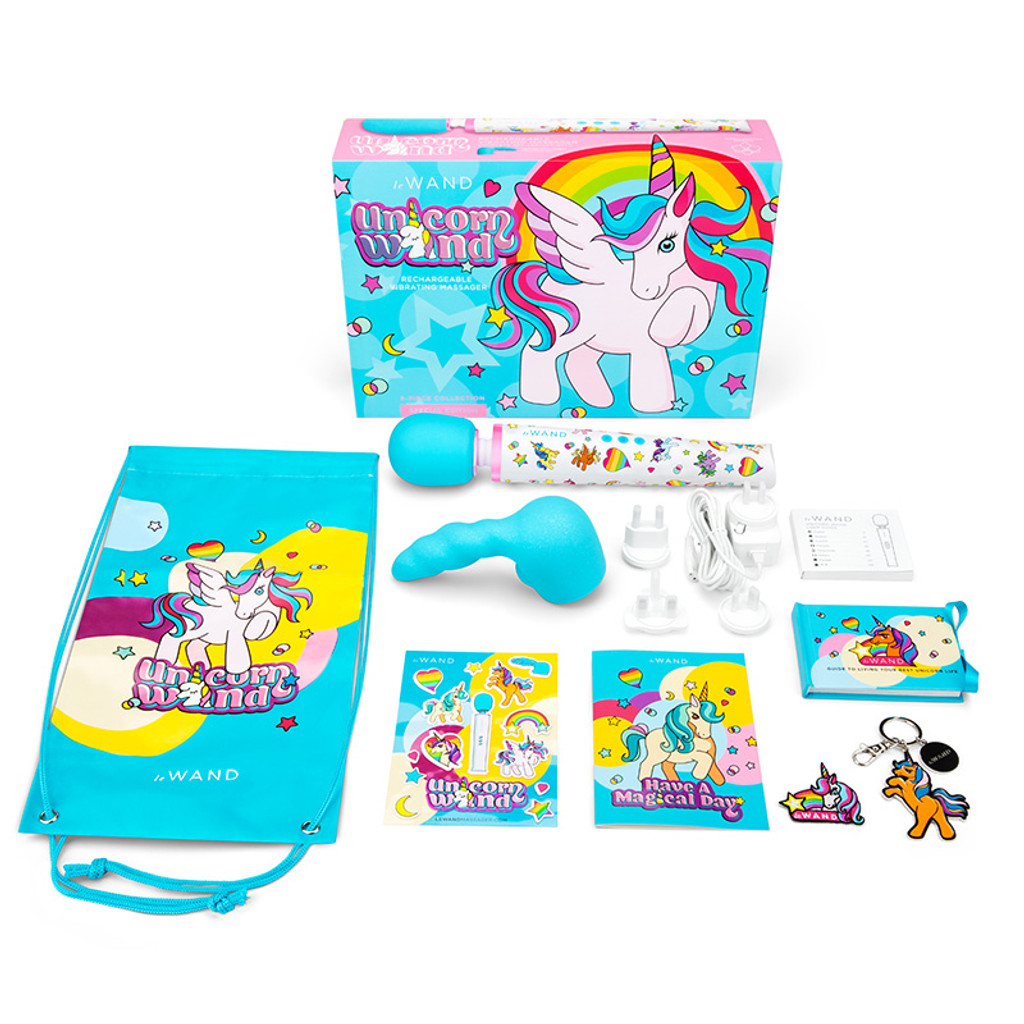 Le Wand Unicorn Wand 8-piece Limited Edition Set - Contents