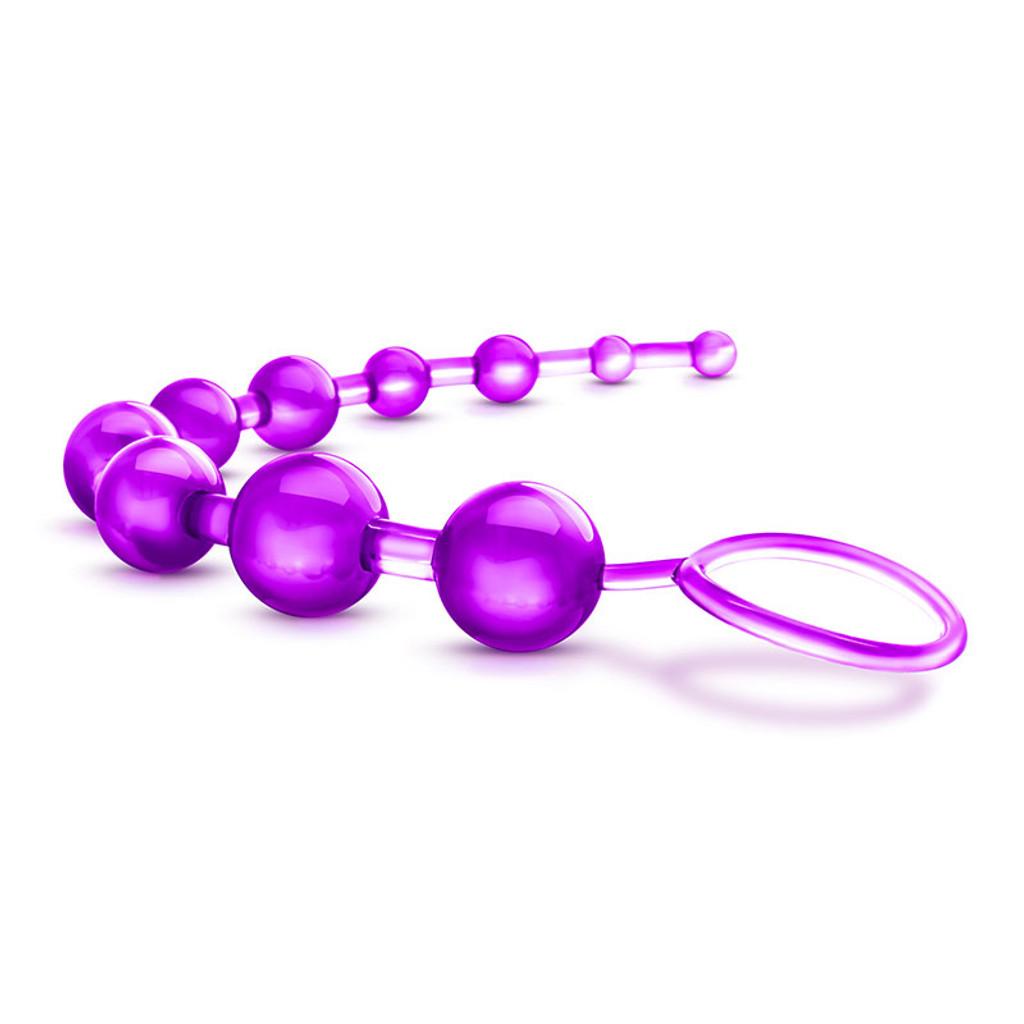 Purple Blush Novelties B Yours Basic Beads - Side