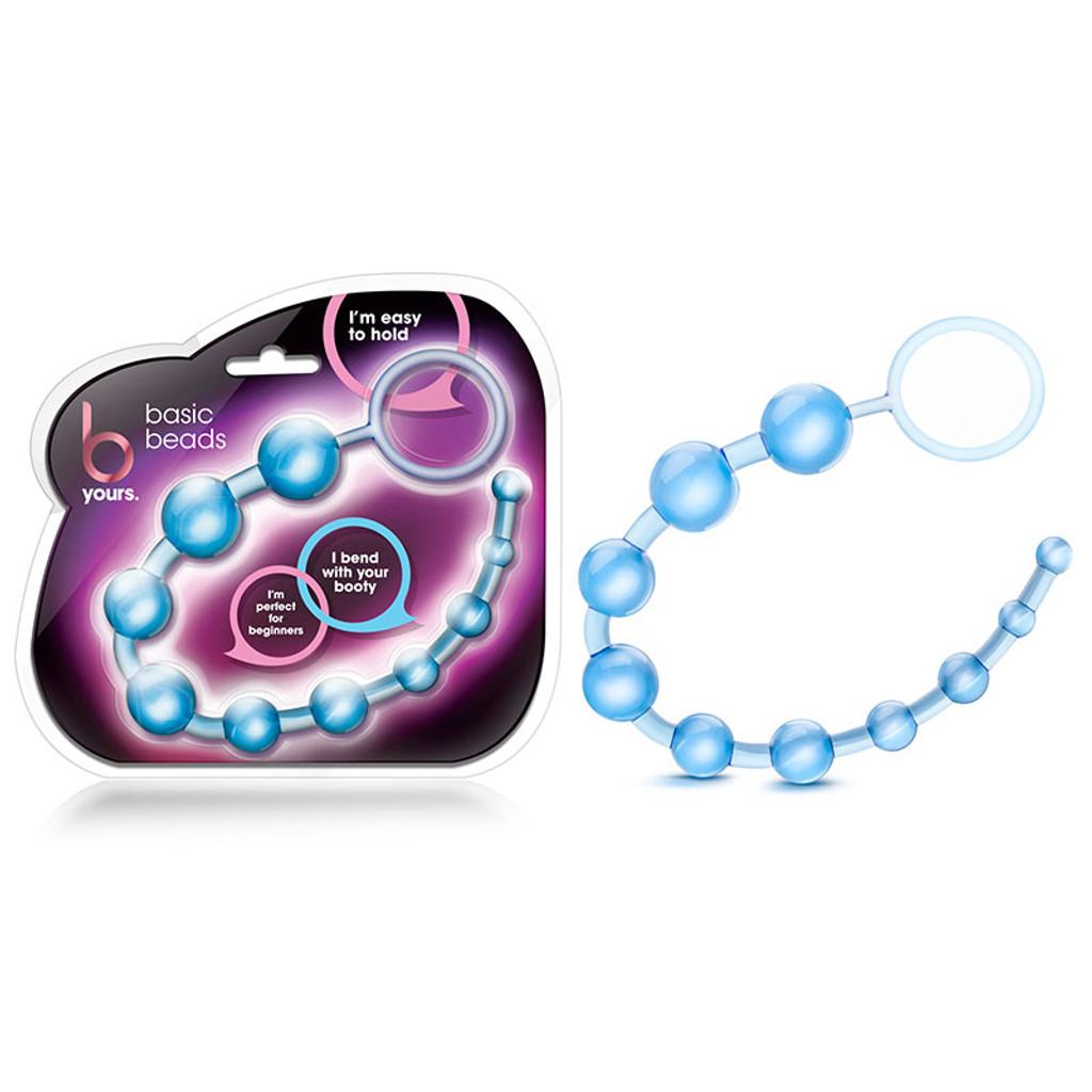 Blue Blush Novelties B Yours Basic Beads - Package