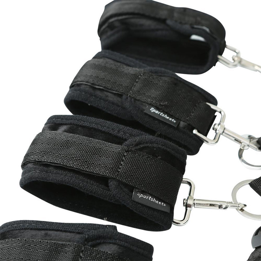 Sportsheets Original Under the Bed Restraint System - Cuffs