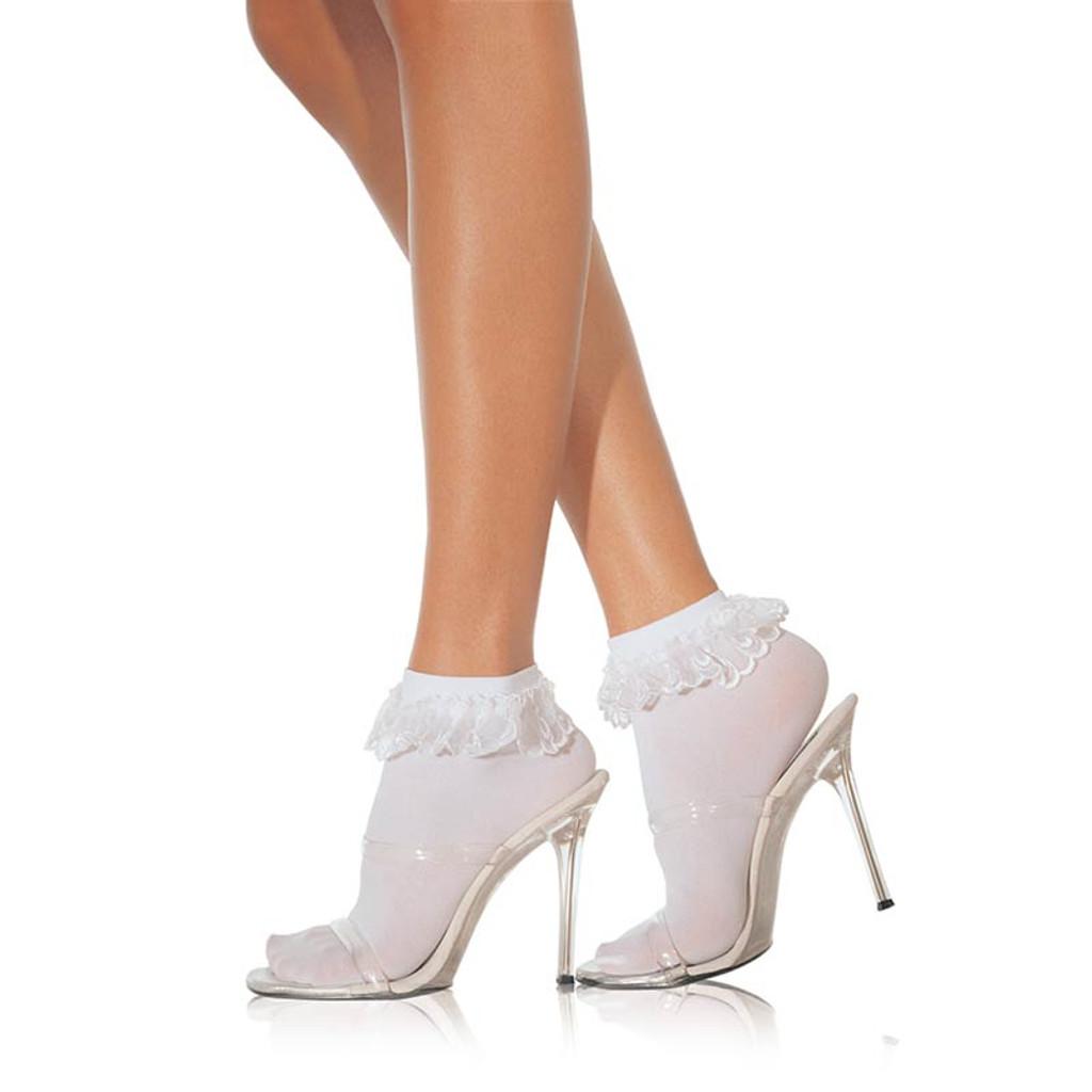 Ruffle Nylon Anklet